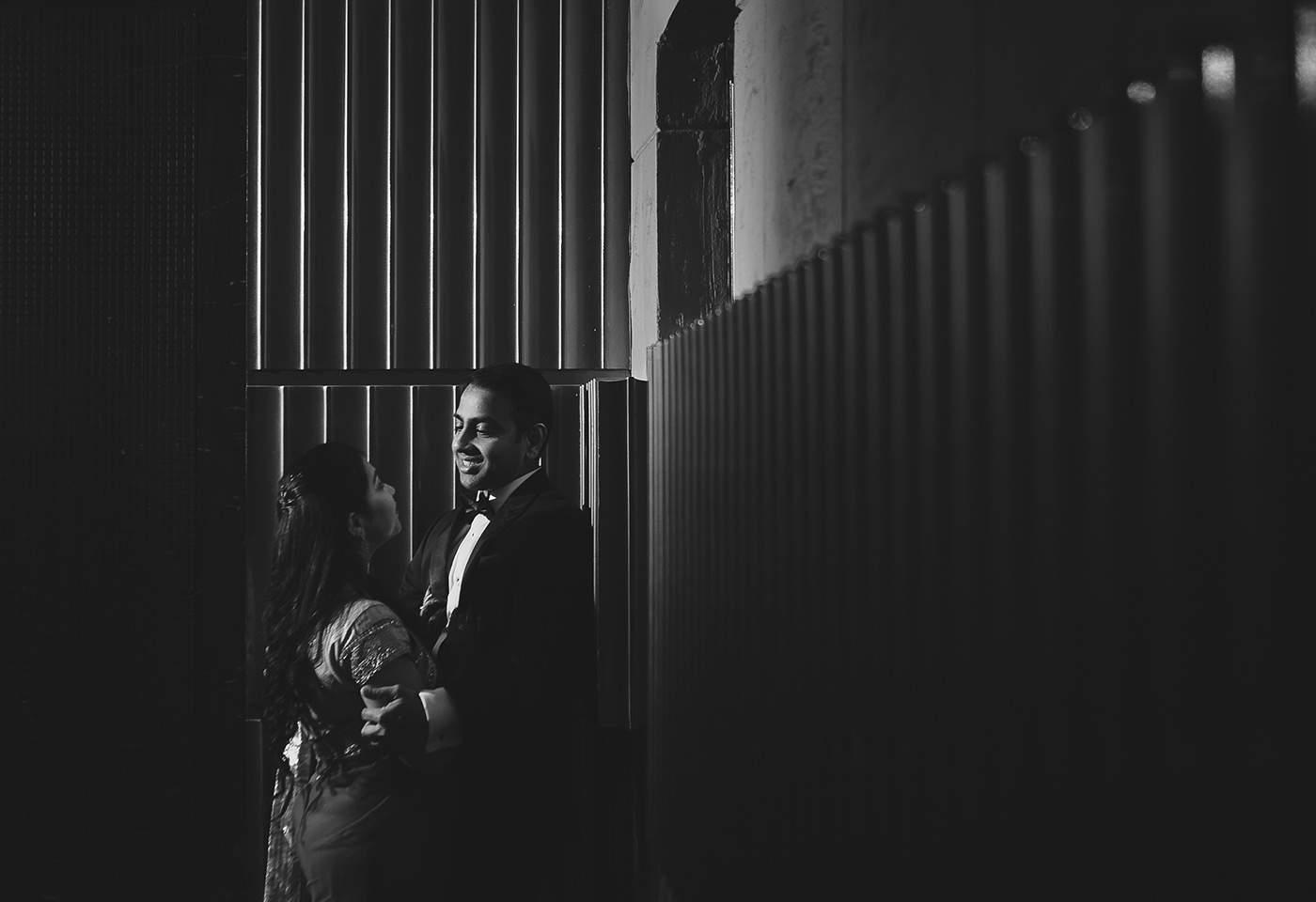 bride and groom couple session at palm beach resorts vizag