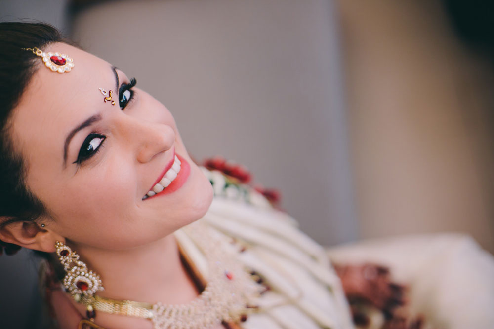 bride makeup at golconda resorts