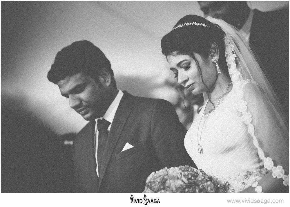 creative christian weddings india