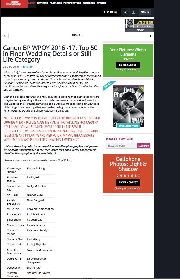 Top 50 wedding photographers in india