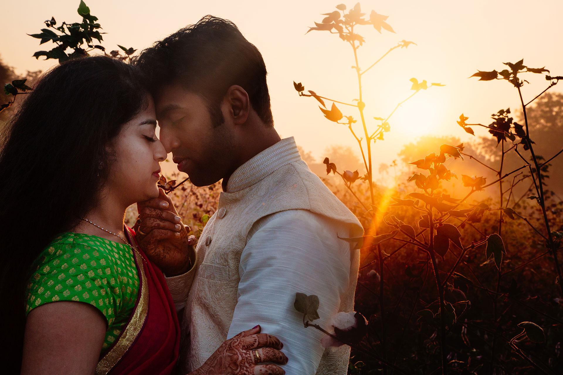 Romantic couple photo session in warangal