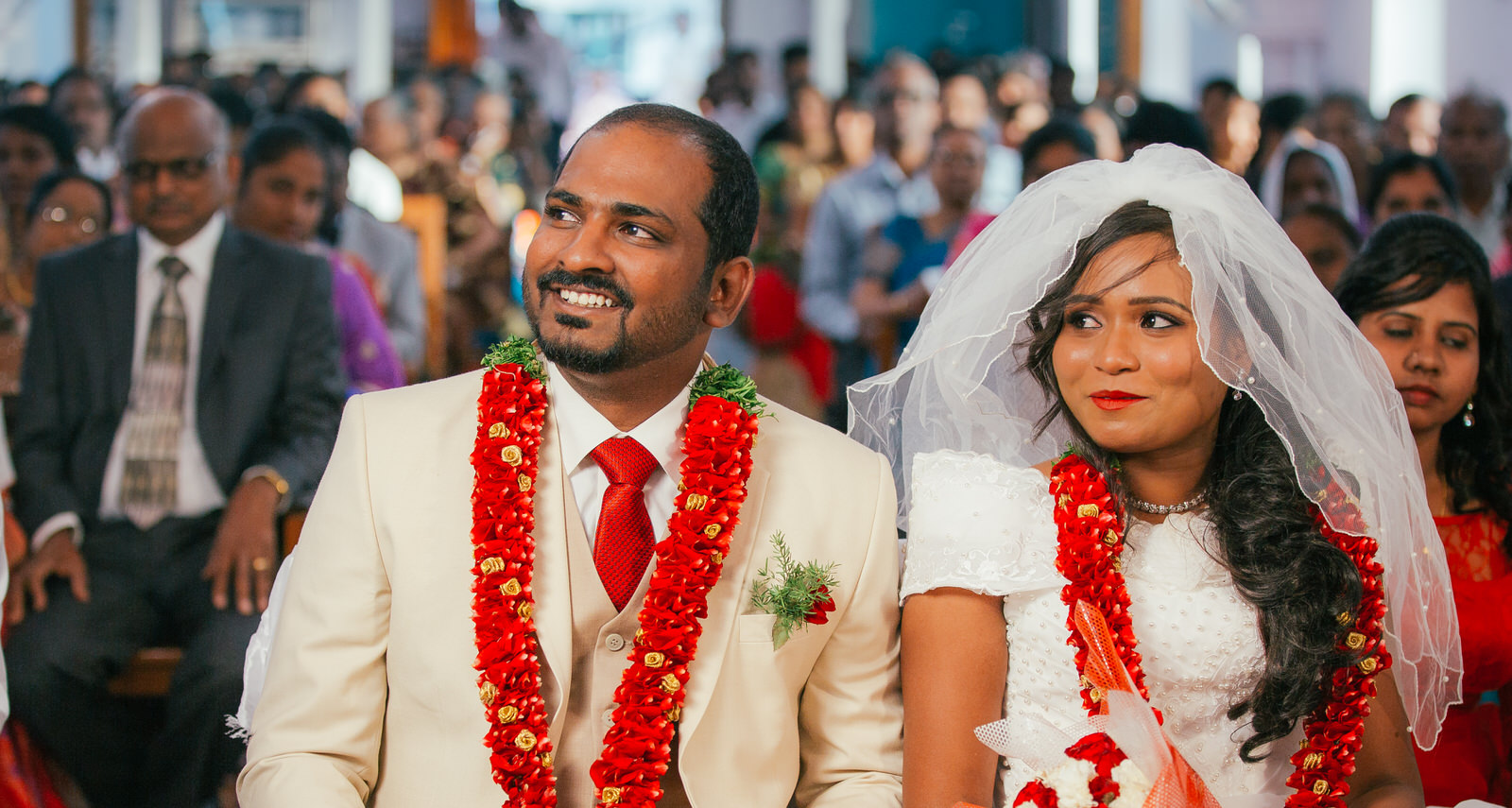 candid moments of bride and groom at their wedding